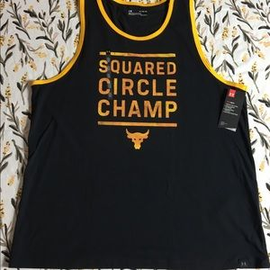 Men's Under Armour project rock tank NWT